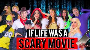 if life was a scary movie halloween 2015 niki and gabi youtube
