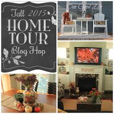 home decor blogs 2015 our good life fall home tour blog hop