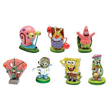 spongebob squarepants 2 aquarium ornaments 7
