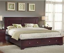 astrid platform hardwood bed by copeland ebay