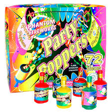 party poppers phantom fireworks products party poppers