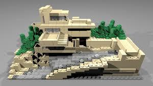 21005 lego architecture fallingwater youtube