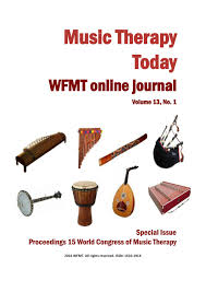 music therapy today vol 13 no 1 special issue by world