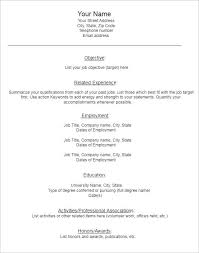 blank resume formats cv format blank paso evolist co