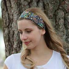 fabric headband headbands with elastic back soft 2 fabric headbands just the