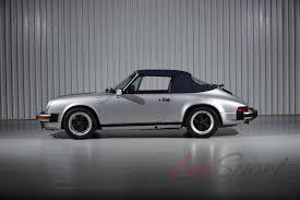 porsche white convertible 1988 porsche 911 carrera convertible carrera stock 1988168 for