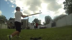kids playing wiffle ball in backyard 9 7 14 youtube