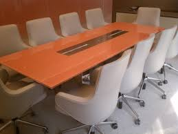 Back Painted Glass Conference Table Back Painted Glass Conference Table Chene Interiors
