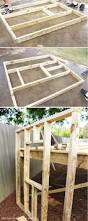 Backyard Swing Plans by Best 25 Playhouse Plans Ideas On Pinterest Kid Playhouse