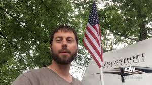 Rv Flag Pole Mount Diy Camper Flagpole Youtube