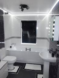 bathroom mirror lighting ideas white gloss acrylic deep soaking