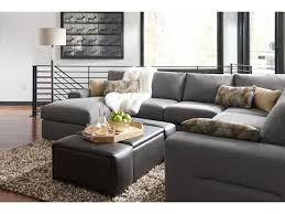la z boy structure five piece modern sectional sofa with