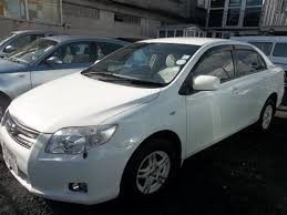 used toyota axio pearl white 2008 axio pearl white for sale