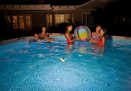 floating led pool lights floating light intex