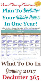 january declutter calendar minute daily missions for month free printable january decluttering calendar with daily minute missions follow the entire declutter