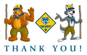 thank you cub scout pack 1776