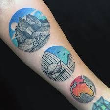 22 besten circle tattoos for men bilder auf pinterest für männer