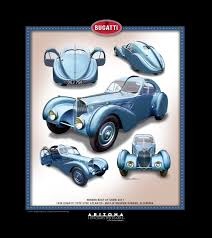 bugatti type 57sc atlantic portrait created of 2017 arizona concours best in show classic