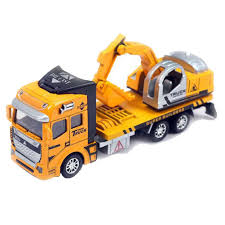 xieccx 1 48 diecast pullback car construction toy vehicle for kids