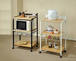 kitchen helps keep kitchen organized with target microwave cart