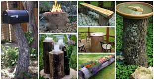 11 awesome diy stump projects for your backyard