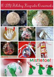 ten diy keepsake ornaments bare on the dashboard