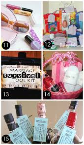 bridal shower gift basket ideas 60 best creative bridal shower gift ideas