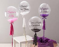 personalised birthday balloons balloons etsy