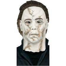 michael myers halloween 2 mask amazon com michael myers rob zombie mask clothing