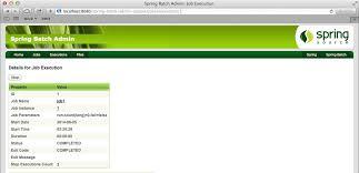 spring batch admin user guide