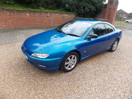 2002 peugeot 406 coupe being auctioned at barons auctions