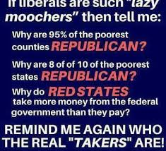 The Meme - are the poorest counties republican the meme policeman