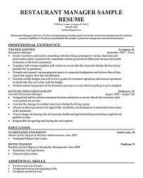 Lifeguard Resume Job Description by Restaurant Supervisor Job Description Resume Restaurant