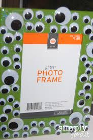 halloween frame craft october 2012 simply sprout