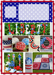 27 fun patriotic crafts tutorials for 4th of july u0026 canada day