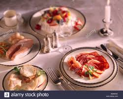 posh dinner table setting stock photos u0026 posh dinner table setting