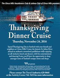 thanksgiving dinner at restaurants thanksgiving dinner cruise event details citrus hills and