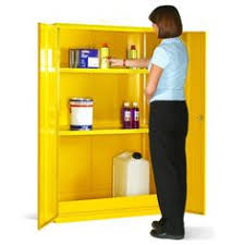 Chemical Storage Cabinets Hazardous Substance Wall Cabinet 1 Shelf These Robust Metal