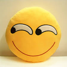 Couch Emoji by Angry Face Funny Cushion Emoji Soft Pillow Stuffed Doll Toy Sofa