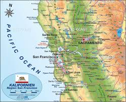 san francisco map of usa map of san francisco environment united states usa map in the