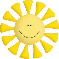 sun with clouds clipart free best sun with clouds