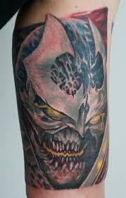 spawn godslayer tattoo by graynd on deviantart