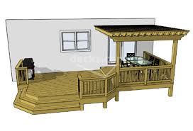 Wood Deck Design Software Free by 12 Deck Plan Sizes Available For Immediate Download From 26x14 Sf