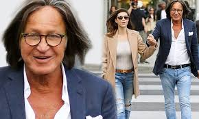 shiva safai mohamed hadid mohamed hadid and fiance shiva safai hold hands daily mail online