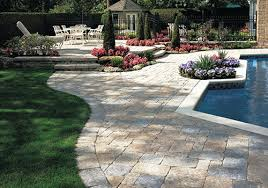 Block Patio Designs Outdoor Paver Ideas Pool Patios Designs With Pavers Patio Pool