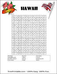 free printable word search hawaii printable pinterest free