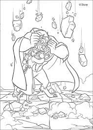 beauty beast coloring pages gaston periodic tables