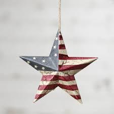 patriotic decorations and ornaments