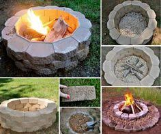 Easy Fire Pits by Fire Pit Ideas Diy Outdoor Living That Won U0027t Break The Bank