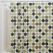 Circles Shower Curtain Interdesign Shower Curtains Shower Curtains Outlet